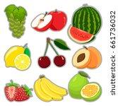 vector illustration logo for... | Shutterstock .eps vector #661736032