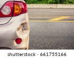 Car Has Dented Rear Bumper...