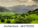 a beautiful plateau.  artvin  ... | Shutterstock . vector #661755202