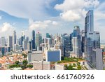 top views skyline business... | Shutterstock . vector #661760926