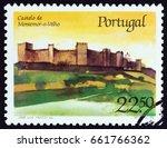 portugal   circa 1986  a stamp...   Shutterstock . vector #661766362