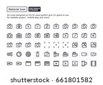 camera and photography icon...