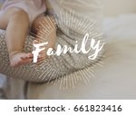Small photo of Family parentage home love together word