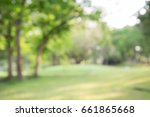 abstract blur city park bokeh... | Shutterstock . vector #661865668