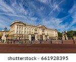 buckingham palace in london | Shutterstock . vector #661928395
