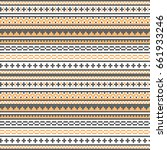 seamless vector pattern with...   Shutterstock .eps vector #661933246