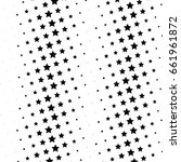 abstract halftone dotted... | Shutterstock .eps vector #661961872