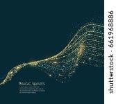 vector illustration of a magic...   Shutterstock .eps vector #661968886