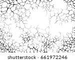 cracks and lighting or networks ... | Shutterstock .eps vector #661972246