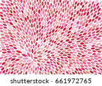 Stock photo watercolor hand painted feathers like elements colorful light cute pattern 661972765