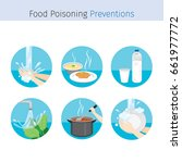 contagious disease prevention... | Shutterstock .eps vector #661977772