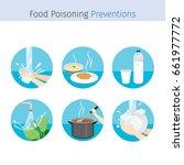 contagious disease prevention... | Shutterstock .eps vector #661977772