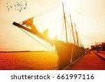 tour around toronto islands on...   Shutterstock . vector #661997116