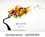 colourful autumn background | Shutterstock .eps vector #66200302