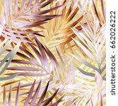 Palm Leaves Seamless Pattern....
