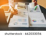 businessman investment...   Shutterstock . vector #662033056