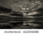 a dramatic black   white image... | Shutterstock . vector #662046088
