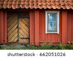 details of traditional house in ... | Shutterstock . vector #662051026