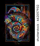 Color Ammonite T Shirt Design...