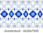 colorful horizontal pattern for ... | Shutterstock . vector #662067505