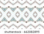 melting colorful symmetrical... | Shutterstock . vector #662082895