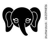 kawaii animal icon | Shutterstock .eps vector #662094856