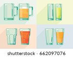 vector glass for different...