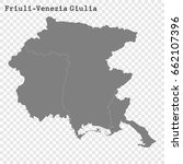 high quality map of friuli... | Shutterstock .eps vector #662107396