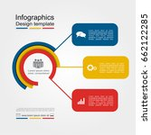 infographic design template... | Shutterstock .eps vector #662122285