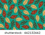 Seamless Pattern With Leaves....