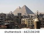 the great pyramid of egypt with ... | Shutterstock . vector #662136148