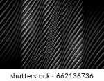 seamless wavy gray texture with ... | Shutterstock . vector #662136736