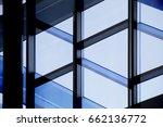 column   pillar and glass wall... | Shutterstock . vector #662136772