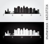 tampa usa skyline and landmarks ...   Shutterstock .eps vector #662137216