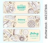 bakery vector illustration.... | Shutterstock .eps vector #662137666