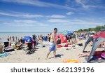 grand bend ontario  canada  ... | Shutterstock . vector #662139196