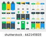 collection of coloful pricing...