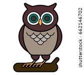 owl | Shutterstock .eps vector #662146702