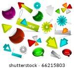 vector design elements   Shutterstock .eps vector #66215803