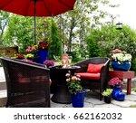 outdoor living  | Shutterstock . vector #662162032