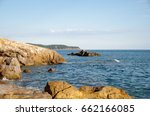 seashore bay | Shutterstock . vector #662166085