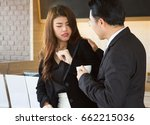 sexual harassment at work... | Shutterstock . vector #662215036