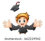 vector illustration of cartoon... | Shutterstock .eps vector #662219542