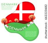 Denmark   World Flag In Paper...
