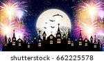 Halloween Fireworks Church...