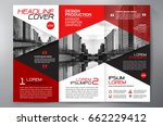 business brochure. flyer design.... | Shutterstock .eps vector #662229412