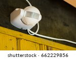 motion sensor or detector for... | Shutterstock . vector #662229856
