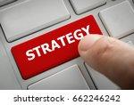 business strategy concept ...   Shutterstock . vector #662246242