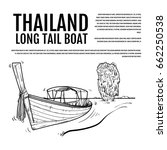 Long Tail Boat  Thailand Hand...