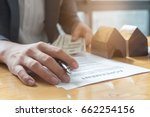 close up of business man... | Shutterstock . vector #662254156